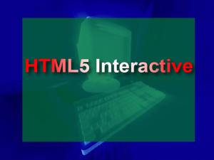HTML5Screen